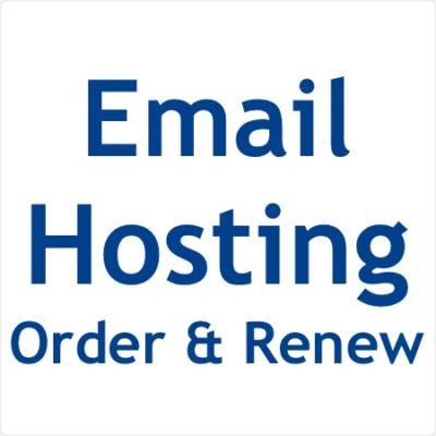 Email Hosting Order & Renew