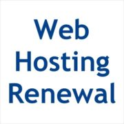 Web Hosting Renewal